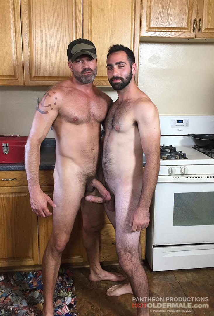 Hot Older Male Dave Rex and Anthony Naxos Thick Daddy Cock Amateur Gay Porn 01 Getting Fucked By A Daddy With A Big Thick Hairy Cock