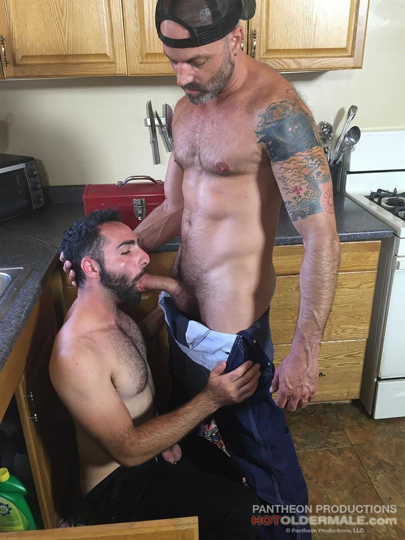 Hot Older Male Dave Rex and Anthony Naxos Thick Daddy Cock Amateur Gay Porn 09 Getting Fucked By A Daddy With A Big Thick Hairy Cock