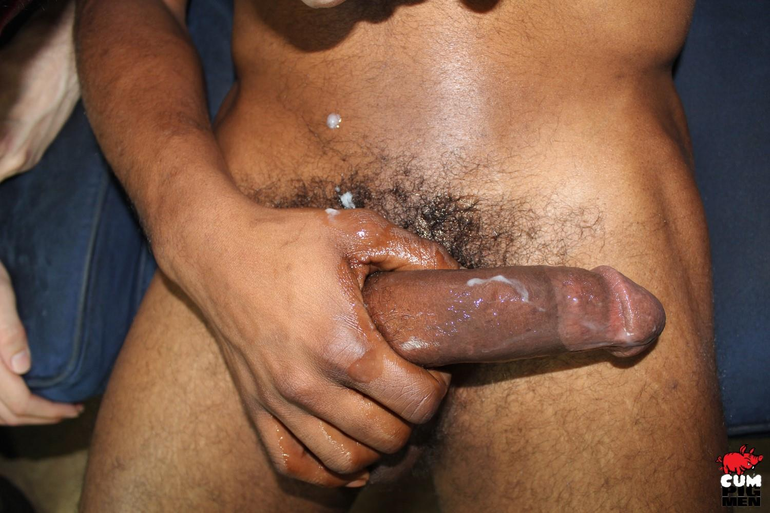 Cum Pig Men Rio Starr Big Black Cock Cum Eating 16 Slutty White Boy Eats A Black Mans Big Load Of Cum