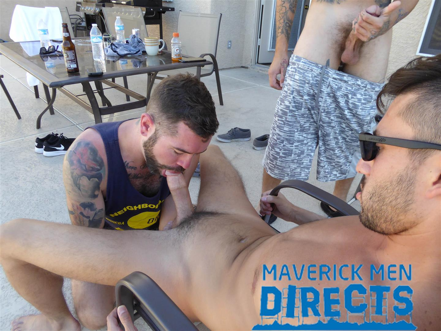 Maverick Men Directs Real Guys Having Bareback Sex Free Video 03 Spit On That Hairy Hole And Bareback That Ass