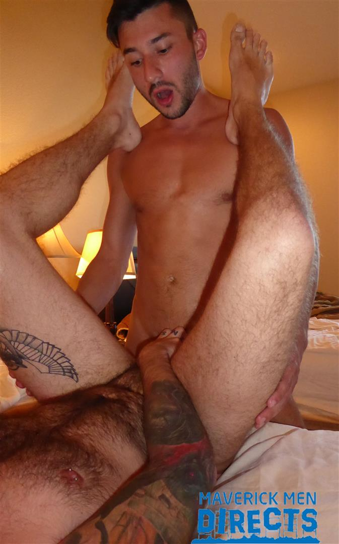 Maverick Men Directs Real Guys Having Bareback Sex Free Video 12 Spit On That Hairy Hole And Bareback That Ass