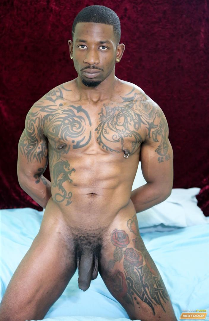 Next Door Ebony Muscular Black Guys Fucking Free Gay Sex Video 02 A Hard Morning Fuck With Two Hung Black Lovers