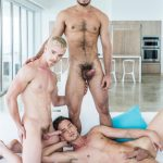 Lucas Rico Marlon Cody Winter Damon Heart Bareback Free Video 04 150x150 Taking Two Raw Cocks Up The Ass At The Same Time