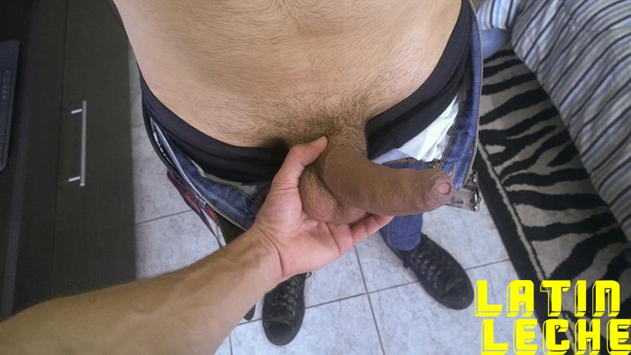 Latin-Leche-Straight-Latino-Big-Uncut-Cock-First-Time-Gay-Bareback-Sex-03 Big Uncut Dick Straight Latino Becomes A Gay Cum Dump For Money