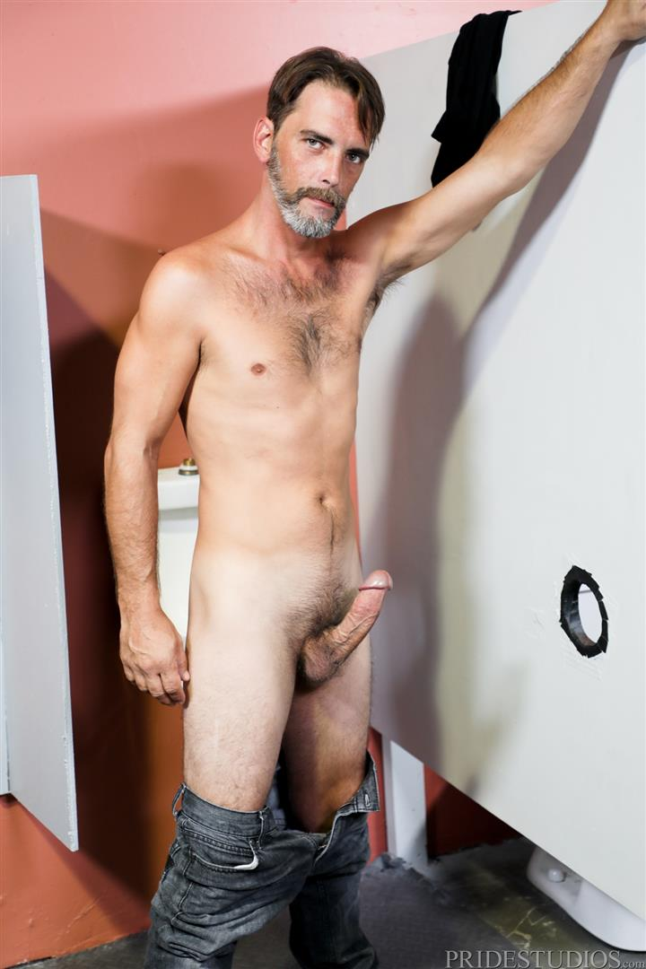 Men-Over-30-Joe-Parker-and-Jack-Andy-Sucking-Daddy-Dick-At-A-Gloryhole-07 Sucking A Thick Daddy Cock At A Gloryhole In A Public Bathroom