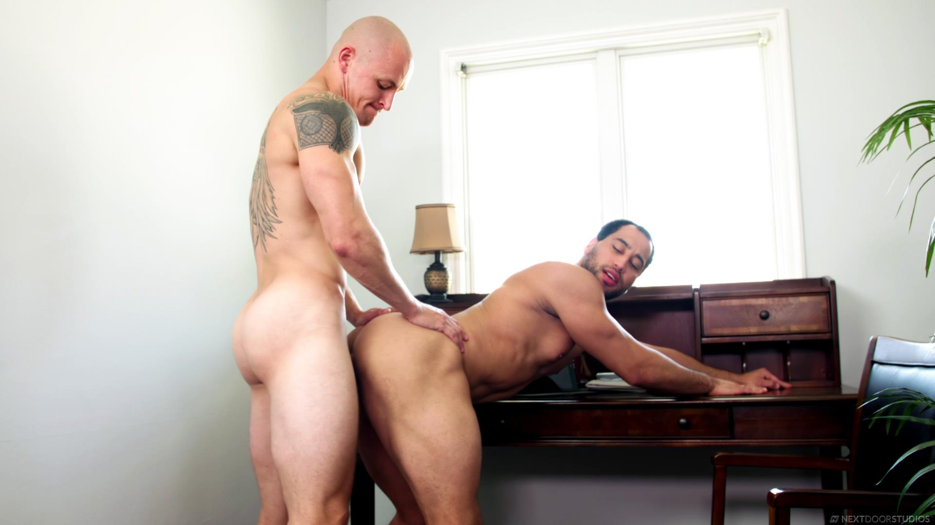 Next-Door-Buddies-Trevor-Laster-and-David-Rose-Bareback-Muscle-Flip-Fuck-Video-09 Bareback Flip Muscle Fuck With Trevor Laster and David Rose