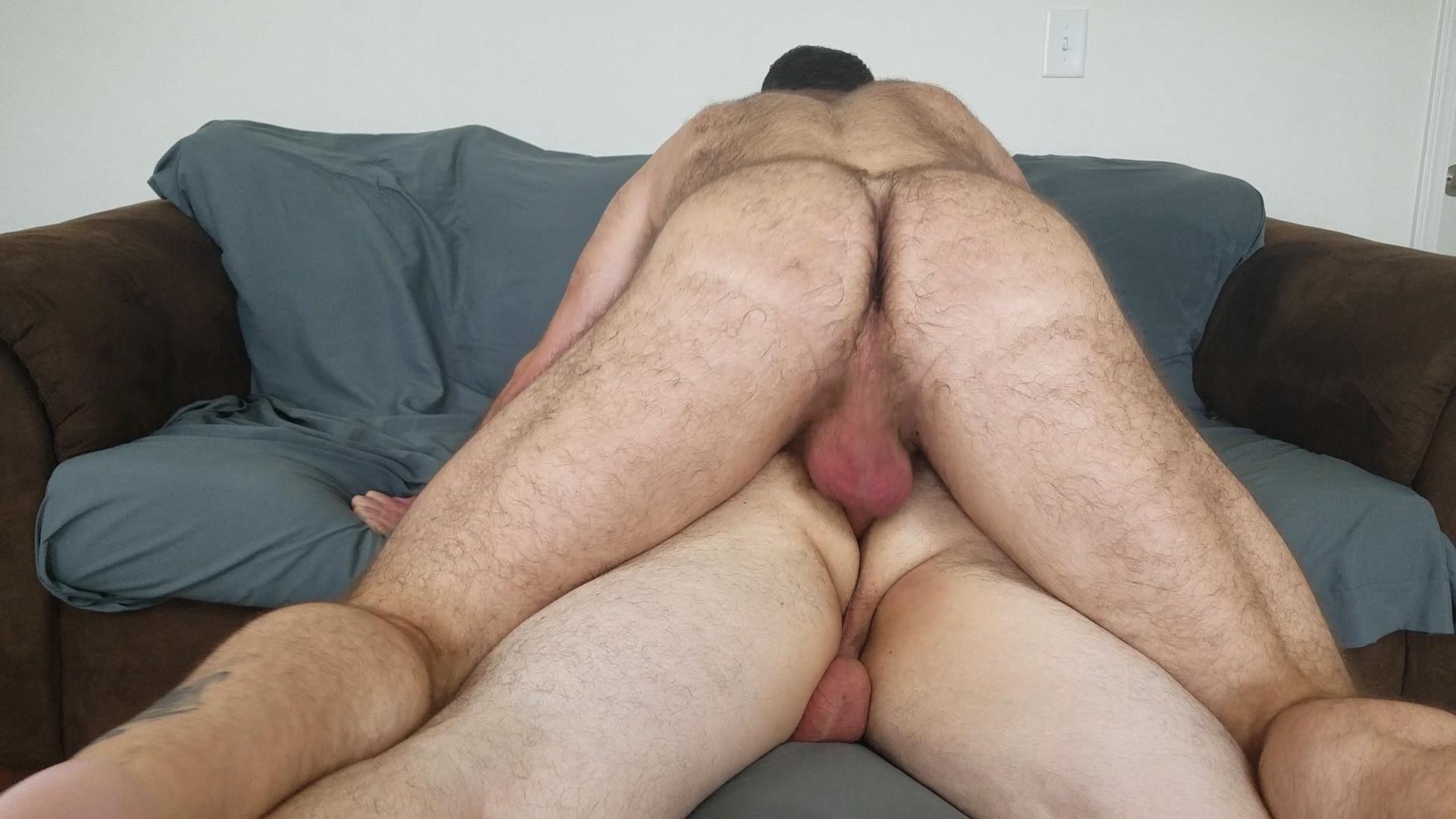 Topher-Phoenix-and-MuscleBul-and-David-Coyote-Daddies-Breeding-A-Chubby-Cub-23 Topher Phoenix and MuscleBull Take Turns Breeding Chubby Cub David Coyote